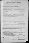 002789, US Land Patent, T29S, R11E, Jose A. Basquez, Aug. 1, 1871, and BLM Land Patent Detail Sheet