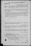 000098, US Land Patent, T29S, R16E, Drura W. James, Mar. 28, 1861, and BLM Land Patent Detail Sheet