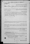 000104, US Land Patent, T29S, R16E, Drura W. James, Mar. 28, 1861, and BLM Land Patent Detail Sheet
