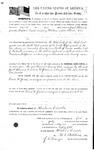 084099, US Land Patent, T29S, R16E, Drura W. James, Jacob Clements, July 1, 1861, and BLM Land Patent Detail Sheet