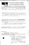 089554, US Land Patent, T29S, R16E, Drura W. James, Levi W. Libby, July 1, 1861, and BLM Land Patent Detail Sheet