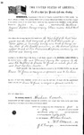 094581, US Land Patent, T29S, R16E, Drura W. James, Eli Hubbard, July 1, 1861, and BLM Land Patent Detail Sheet