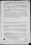 000049, US Land Patent, T29S, R17E, William H. Garman, Mar. 28, 1861, and BLM Land Patent Detail Sheet
