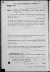 000052, US Land Patent, T29S, R17E, Robert G. Flint, Mar. 28, 1861, and BLM Land Patent Detail Sheet