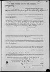 000057, US Land Patent, T29S, R17E, John D. Thompson, Mar. 28, 1861, and BLM Land Patent Detail Sheet