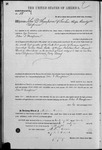 000058, US Land Patent, T29S, R17E, John D. Thompson, Mar. 28, 1861, and BLM Land Patent Detail Sheet