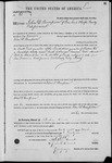 000061, US Land Patent, T29S, R17E, John D. Thompson, Mar. 28, 1861, and BLM Land Patent Detail Sheet