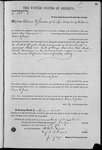 000101, US Land Patent, T29S, R17E, Drura W. James, Mar. 28, 1861, and BLM Land Patent Detail Sheet