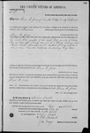 000178, US Land Patent, T29S, R17E, Drura W. James, Oct. 1, 1861, and BLM Land Patent Detail Sheet