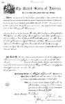 001128, US Land Patent, T29S, R17E, August Hemme, Nov. 1, 1870, and BLM Land Patent Detail Sheet