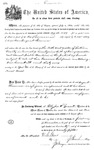 001129, US Land Patent, T29S, R17E, August Hemme, Nov. 1, 1870, and BLM Land Patent Detail Sheet