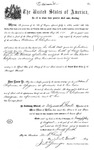 000550, US Land Patent, T29S, R18E, William S. Chapman, Aug. 25, 1869, and BLM Land Patent Detail Sheet