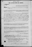 002115, US Land Patent, T29S, R18E, William S. Chapman, Aug. 10, 1869, and BLM Land Patent Detail Sheet