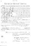 000181c, US Land Patent, T30S, R12E, Sophia Belanger, Nov. 27, 1868, and BLM Land Patent Detail Sheet