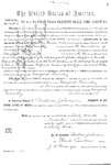 000241c, US Land Patent, T30S, R12E, Margaret Laundry, Nov. 27, 1868, and BLM Land Patent Detail Sheet
