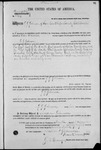 001774, US Land Patent, T30S, R12E, J. J. Johnson, Nov. 10, 1868, and BLM Land Patent Detail Sheet