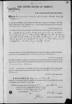 002590, US Land Patent, T30S, R12E, Encarnacion Bareras, and BLM Land Patent Detail Sheet