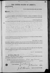 002601, US Land Patent, T30S, R12E, John Selm, Feb. 15, 1871, and BLM Land Patent Detail Sheet