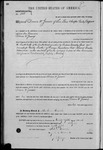 000100, US Land Patent, T30S, R17E, Drura W. James, Mar. 28, 1861, and BLM Land Patent Detail Sheet