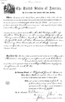 001126, US Land Patent, T30S, R17E, August Hemme, Nov. 1, 1870, and BLM Land Patent Detail Sheet