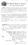 001132, US Land Patent, T30S, R17E, August Hemme, Nov. 1, 1870, and BLM Land Patent Detail Sheet