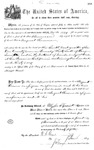 001134, US Land Patent, T30S, R17E, August Hemme, Nov. 1, 1870, and BLM Land Patent Detail Sheet