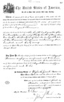 001136, US Land Patent, T30S, R17E, August Hemme, Nov. 1, 1870, and BLM Land Patent Detail Sheet