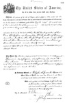 001138, US Land Patent, T30S, R17E, August Hemme, Nov. 1, 1870, and BLM Land Patent Detail Sheet