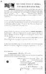 073999, US Land Patent, T30S, R17E, Drura W. James, Lewis Andersonk