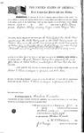 090217, US Land Patent, T30S, R17E, Robert G. Flint, John Spence, July 1, 1861, and BLM Land Patent Detail Sheet
