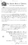 001196, US Land Patent, T30S, R19E, John Q. Greenwood, Nov. 1, 1870, and BLM Land Patent Detail Sheet
