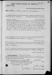003172, US Land Patent, T30S, R20E, William S. Chapman, Oct. 5, 1871, and BLM Land Patent Detail Sheet