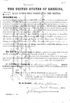 000030b, US Land Patent, T31S, R12E, Sophia Dufort, June 2, 1868, and BLM Land Patent Detail Sheet