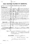 000174c, US Land Patent, T31S, R12E, John Bte Beauvin, June 2, 1868, and BLM Land Patent Detail Sheet