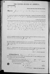 002723, US Land Patent, T31S, R12E, Joseph Lee, Apr. 1, 1871, and BLM Land Patent Detail Sheet