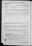 002871, US Land Patent, T31S, R12E, Gerhard Leff, June 10, 1871, and BLM Land Patent Detail Sheet
