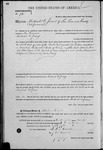 000072, US Land Patent, T21S, R18E, Michael O. Jones, Mar. 28, 1861, and BLM Land Patent Detail Sheet