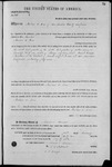 000106, US Land Patent, T31S, R18E, Michael O. Jones, Feb. 1, 1862, and BLM Land Patent Detail Sheet