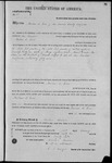 000108, US Land Patent, T31S, R18E, Michael O. Jones, Feb. !, 1862, and BLM Land Patent Detail Sheet