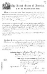 001173, US Land Patent, T31S, R18E, August Hemme, Nov. 1, 1870, and BLM Land Patent Detail Sheet