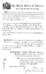 001174, US Land Patent, T31S, R18E, August Hemme, Nov. 1, 1870, and BLM Land Patent Detail Sheet