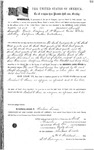 075814, US Land Patent, T31S, R18E, Michael O. Jones, Joseph Swycaffer, Dec. 10, 1861, and BLM Land Patent Detail Sheet