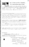 099275, US Land Patent, T31S, R18E, Michael O. Jones, Felix G. Farris, Nov. 5, 1862, and BLM Land Patent Detail Sheet