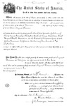 001000, US Land Patent, T31S, R19E, August Hemme, May 25, 1870, and BLM Land Patent Detail Sheet