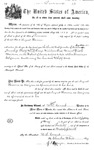 001002, US Land Patent, T31S, R19E, August Hemme, May 25, 1870, and BLM Land Patent Detail Sheet