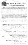 001006, US Land Patent, T31S, R19E, August Hemme, May 25, 1870, and BLM Land Patent Detail Sheet