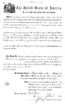 001170, US Land Patent, T31S, R19E, August Hemme, Nov. 1, 1870, and BLM Land Patent Detail Sheet