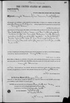 002481, US Land Patent, T31S, R19E, August Hemme, May 20, 1870, and BLM Land Patent Detail Sheet