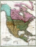 1826 - Map of North America