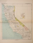 1896-1897 - Indian Land Cession Map, California (with insert special map), Plate CVX, No. 8